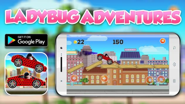 Ladybug Supercars Adventures screenshot 2