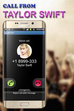Call from Taylor Swift screenshot 1