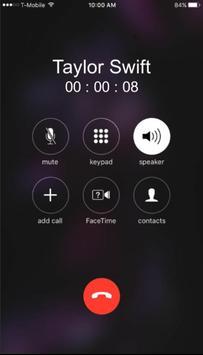 Call from Taylor Swift screenshot 2