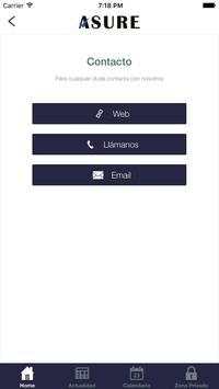 Asure Asesores apk screenshot