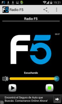 Radio F5 poster