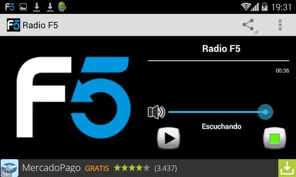 Radio F5 screenshot 1