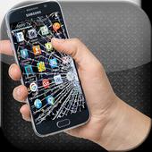 خدعة كسر شاشة الهاتف - جديد-icoon