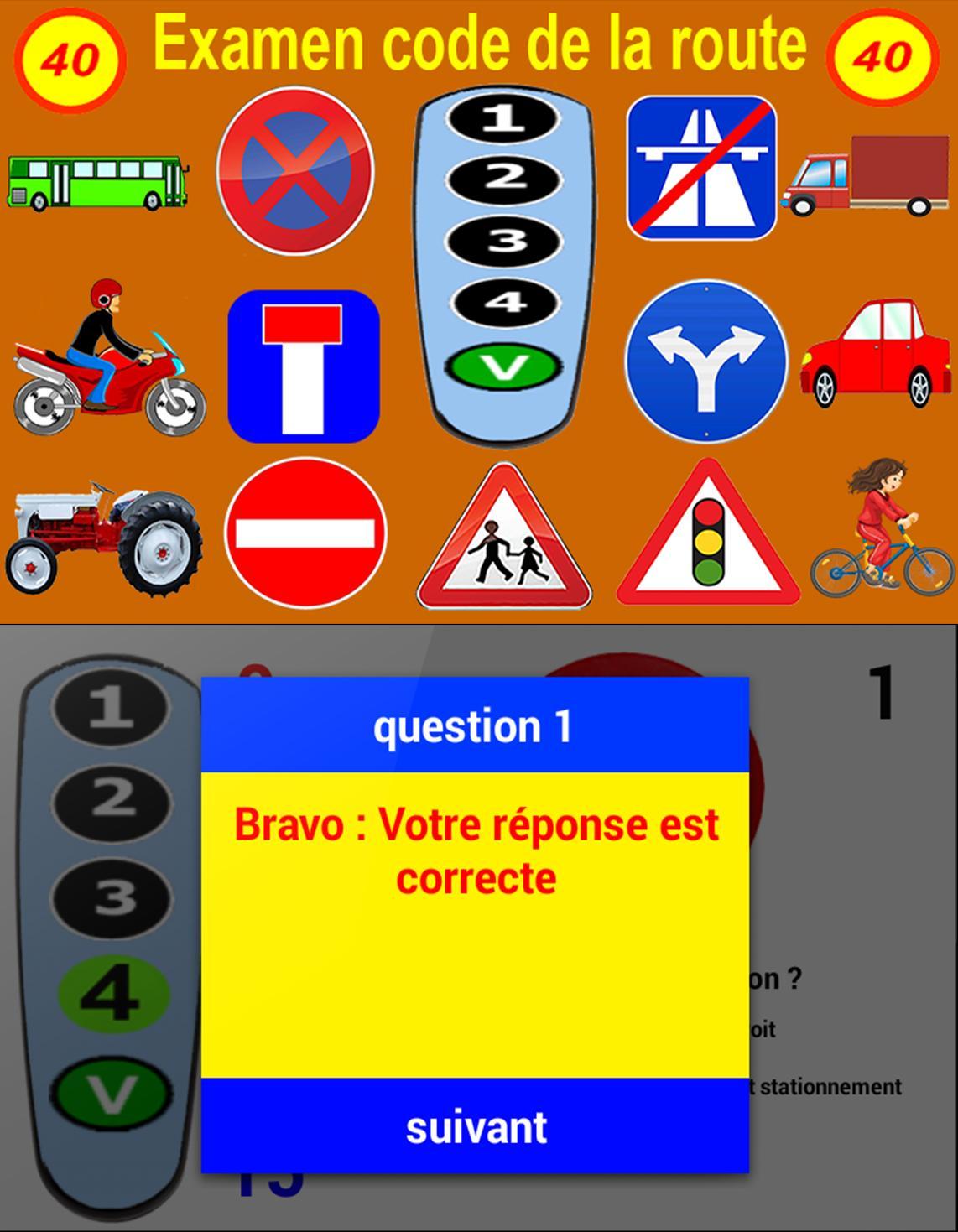 Examen Du Permis De Conduire для андроид скачать Apk