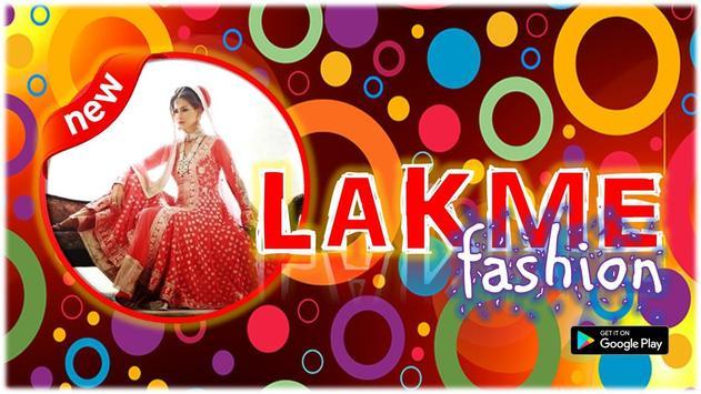 Lakme Fashion poster