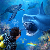Shark VR sharks games for Google Carboard icon