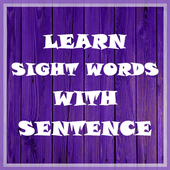 Learn Sight Words with Sentences icon