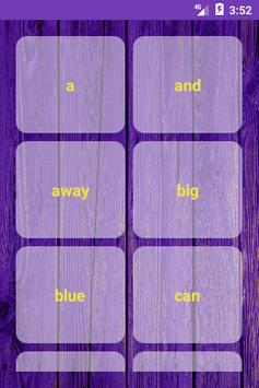 Learn Sight Words with Sentences screenshot 2