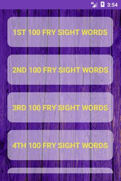 Learn Sight Words with Sentences screenshot 4