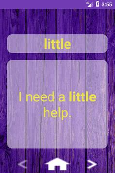 Learn Sight Words with Sentences screenshot 6