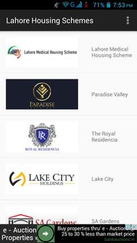 Housing Schemes Lahore poster