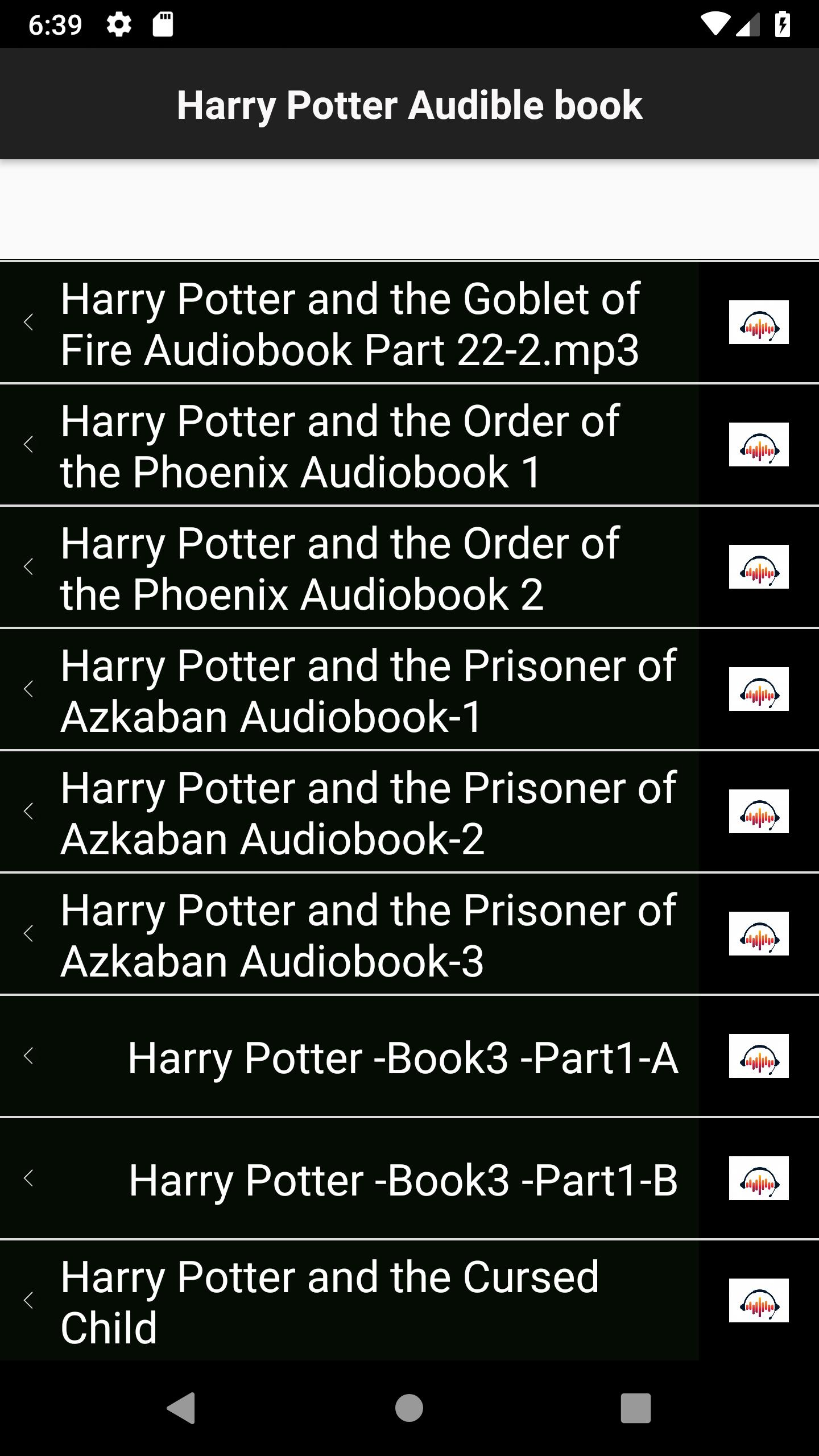 Audible-Books : Harry Potter for Android - APK Download