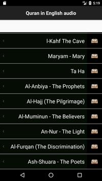 Quran Touch HD with Tafseer and Audio screenshot 1