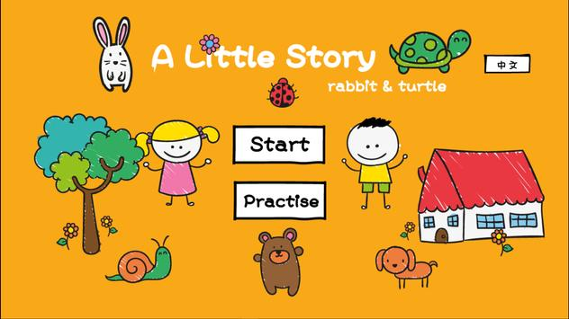 A Little Story - Rabbit&Turtle poster