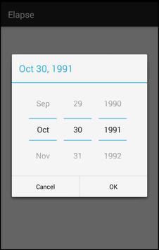 Elapse - A Life Clock apk screenshot