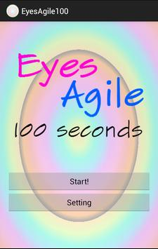 EyesAgile 100 Seconds poster