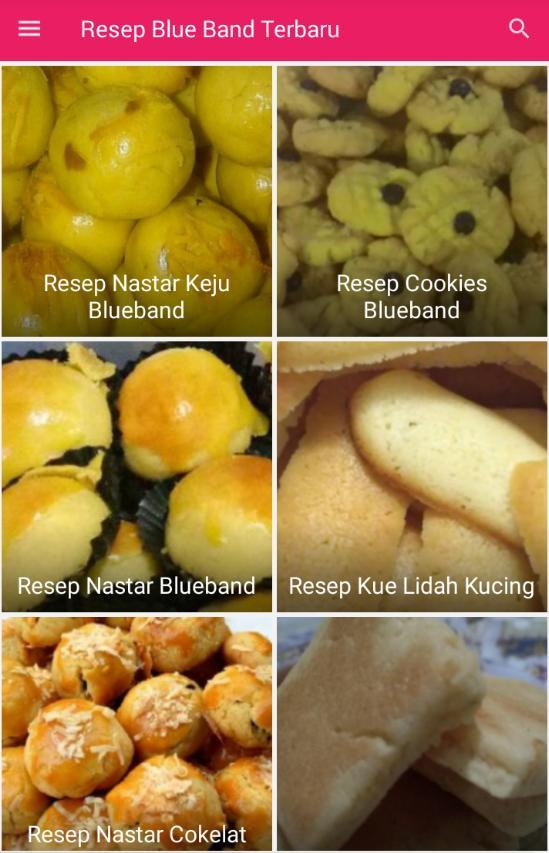 Resep Kue Blue Band Für Android Apk Herunterladen