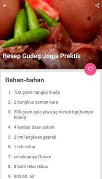 Resep Gudeg Jogja Asli screenshot 4