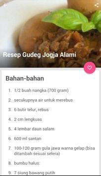 Resep Gudeg Jogja Asli screenshot 2