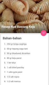 Aneka Resep Kue Bawang screenshot 2