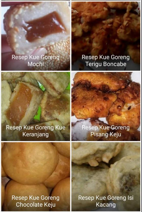 Resep Kue Goreng Terbaru For Android Apk Download