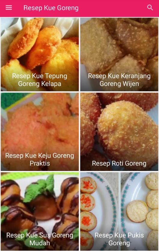 Resep Kue Goreng For Android Apk Download