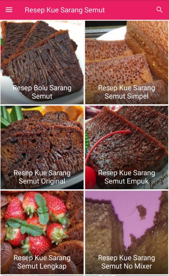 Resep Kue Sarang Semut Para Android Apk Baixar