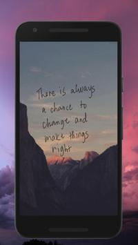 Change Quotes Wallpapers poster