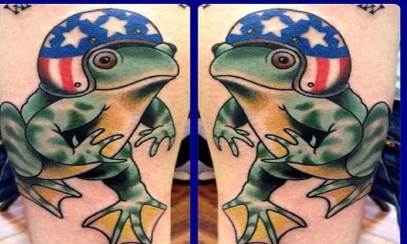 Frog Tattoos apk screenshot