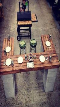 DIY Outdoor Furniture Ideas poster
