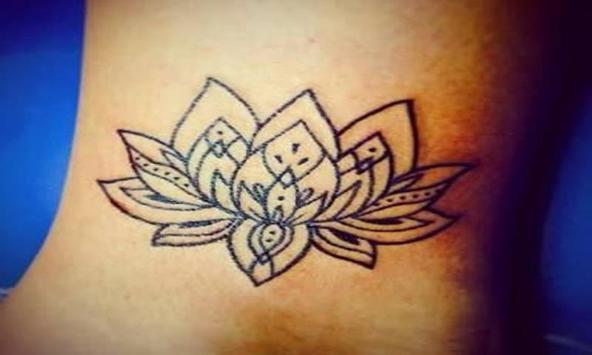 Lotus Flower Tattoos apk screenshot