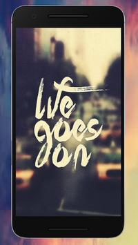 Letting Go Quote Wallpapers screenshot 4