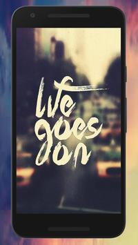 Letting Go Quote Wallpapers screenshot 1