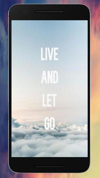 Letting Go Quote Wallpapers screenshot 3