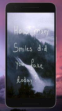 Sad Quote Wallpapers apk screenshot