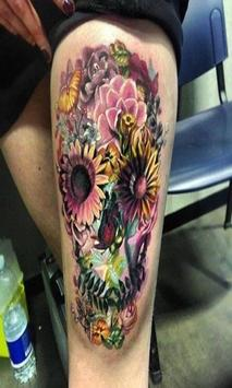 Skull Tattoo Ideas screenshot 14