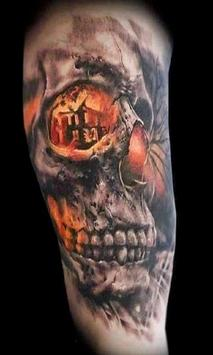 Skull Tattoo Ideas screenshot 5