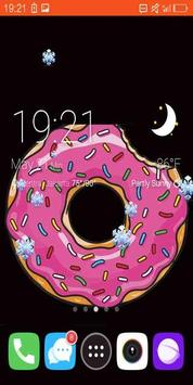 Cupcake Live Wallpaper 2017 screenshot 1