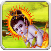 God Krishna Live Wallpaper icon