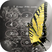 Butterfly lock screen cool icon