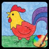 Bé họa sĩ - Tập vẽ cho trẻ em icon