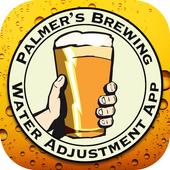 Palmer's Brewing Water Adj App ikona