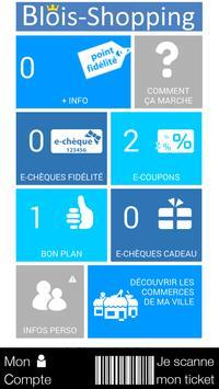 Blois Shopping poster