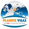 Planète Visas Zeichen
