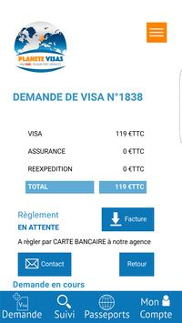 Planète Visas screenshot 2
