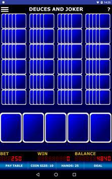 Jumbo Video Poker Free apk screenshot