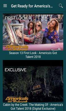 American Got Talent : Show Videos 2018 screenshot 1