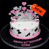 Birthday Cake Design Ideas icon