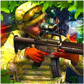 Jungle commando 3D Assassin icon