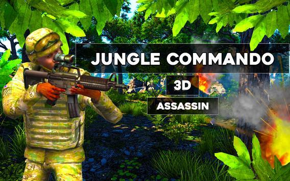 Jungle commando 3D Assassin poster